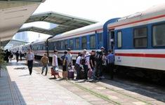Đường sắt Bắc - Nam chỉ chạy 3 đôi tàu khách Thống nhất do COVID-19