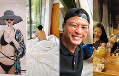 Dàn diễn viên Việt tuần qua: Đình Tú khoe ảnh giường chiếu, Lương Thu Trang đăng ảnh bikini thèm đi chơi