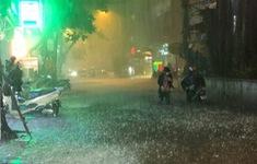Chiều tối và đêm 1/8, Bắc Bộ có mưa to đến rất to