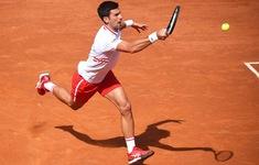 Novak Djokovic vào tứ kết giải quần vợt Italia mở rộng 2021