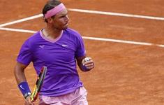 Ngược dòng vất vả trước Shapovalov, Nadal tiến vào tứ kết Italia mở rộng 2021