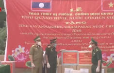 Quảng Bình: Hỗ trợ trang thiết bị y tế phòng chống dịch Covid-19 cho Lào