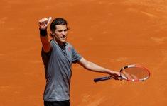 Nhọc nhằn hạ Isner, Thiem tiến vào bán kết Madrid Masters