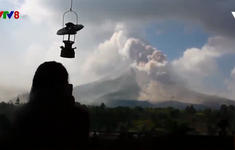 Indonesia: Núi lửa Sinabung phun cột tro bụi cao 2.000 mét