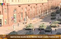 Nga: Matxcơva ngăn mưa trong ngày chiến thắng 9/5