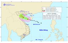 Bão số 2 vào Vịnh Bắc Bộ, giật cấp 9-10, mưa to từ Thanh Hóa đến Thừa Thiên-Huế