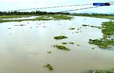 Nhiều ha lúa tại các tỉnh miền Trung ngập úng do bão số 2