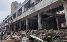 Nổ khí gas tại Trung Quốc, nhiều người thương vong