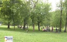 Công viên xanh giữa lòng thủ đô nước Mỹ