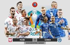TRỰC TIẾP UEFA EURO 2020, ĐT Ba Lan - ĐT Slovakia: 23h00 hôm nay, 14/6 trực tiếp trên VTV6, VTVGo