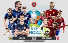 TRỰC TIẾP UEFA EURO 2020, ĐT Scotland - ĐT CH Séc: 20h00 hôm nay, 14/6 trực tiếp trên VTV6, VTVGo