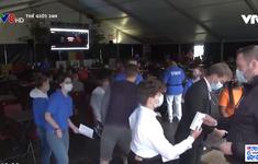Thử nghiệm mức độ lây nhiễm đám đông tại Bỉ trong mùa EURO