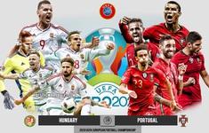 TRỰC TIẾP UEFA EURO 2020, ĐT Hungary - ĐT Bồ Đào Nha: 23h00 ngày 15/6, trực tiếp trên VTV3 và VTVGo