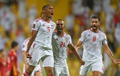 TRỰC TIẾP BÓNG ĐÁ ĐT UAE 3-1 ĐT Việt Nam: Tiến Linh lập công (Hiệp 2)