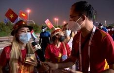 VIDEO: Tình yêu đặc biệt của CĐV Việt Nam