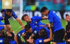 CẬP NHẬT Kết quả, BXH A EURO 2020: ĐT Italia thể hiện sức mạnh tuyệt đối
