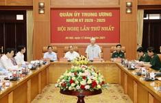 Quân ủy Trung ương gồm 25 đồng chí