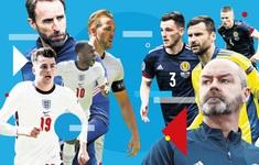 """Anh vs Scotland: """"Tam sư"""" giành vé sớm vào vòng 1/8 UEFA EURO 2020?   2h00 ngày 19/6 trên VTV3"""