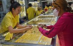 Giá vàng giảm sâu, mất mốc 57 triệu đồng/lượng