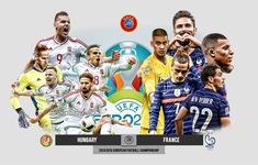TRỰC TIẾP BÓNG ĐÁ Hungary 0–0 Pháp: Hiệp 1 | Bảng F UEFA EURO 2020