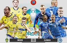 Thuỵ Điển vs Slovakia: Quyết tâm giành vé sớm! | 20h00 hôm nay trên VTV6