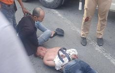 Dùng ma túy đá khi lái xe còn lạng lách, chống đối cảnh sát giao thông