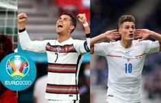 Ronaldo và Strick dẫn đầu danh sách vua phá lưới EURO