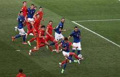 Italia 1-0 Xứ Wales: Tuyển Ý giành ngôi nhất bảng A UEFA EURO 2020