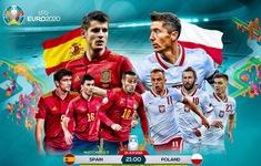 TRỰC TIẾP BÓNG ĐÁ ĐT Tây Ban Nha 1-0 ĐT Ba Lan: Hiệp 2