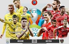 TRỰC TIẾP BÓNG ĐÁ Ukraine vs Áo: 23h00 hôm nay trên VTV6 | Bảng C UEFA EURO 2020
