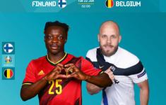 TRỰC TIẾP BÓNG ĐÁ Phần Lan – Bỉ: 02h00 ngày 22/6 trên VTV3, VTVGo | Bảng B UEFA EURO 2020