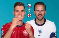 TRỰC TIẾP BÓNG ĐÁ ĐT Séc – ĐT Anh: Bảng D UEFA EURO 2020 | 2h00 ngày 23/6 trên VTV6 và VTVGo