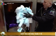 Máy tái chế rác thải y tế
