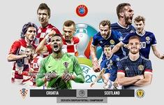 TRỰC TIẾP BÓNG ĐÁ ĐT Croatia 1-0 ĐT Scotland: Vlasic ghi bàn mở tỉ số (Hiệp 1)