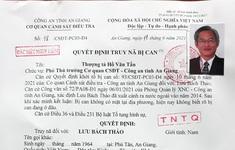 Truy nã đặc biệt nguy hiểm đối với nguyên Tổng Giám đốc CTCP Việt An