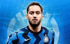 Hakan Calhanoglu gia nhập Inter Milan theo dạng chuyển nhượng tự do