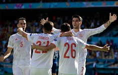 Slovakia 0-5 Tây Ban Nha: Thắng thuyết phục, La Roja giữ ngôi nhì bảng E UEFA EURO 2020