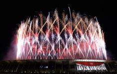Màn pháo hoa tuyệt đẹp trong lễ khai mạc Olympic Tokyo 2020
