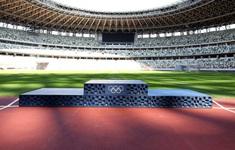 Bục trao huy chương của Olympic Tokyo 2020 được làm từ rác thải nhựa