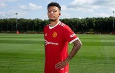 Jadon Sancho chính thức ra mắt Manchester United
