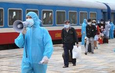 Hà Tĩnh: 1 trường hợp dương tính với SARS-CoV-2 trở về trên chuyến tàu SE14