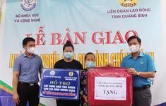 Bộ Khoa học và Công nghệ bàn giao nhà tình nghĩa tại Quảng Bình và Quảng Trị