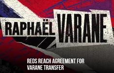 Manchester United đạt thỏa thuận mua Raphael Varane