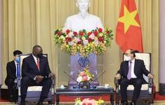 Chủ tịch nước Nguyễn Xuân Phúc mong muốn Hoa Kỳ tiếp tục hỗ trợ vaccine COVID-19