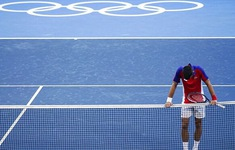 Novak Djokovic trắng tay rời Olympic Tokyo 2020