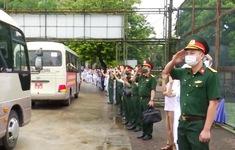 Quân đội chi viện cho miền Nam chống dịch COVID-19