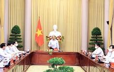 Chủ tịch nước biểu dương 3 triệu công nhân ngành dệt may vừa sản xuất vừa chống dịch