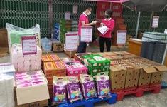 Triển khai điểm bán hàng lưu động ở Hà Nội