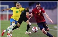 Lịch thi đấu chung kết bóng đá nam Olympic Tokyo 2020: Brazil – Tây Ban Nha, Mexico tranh huy chương đồng với Nhật Bản