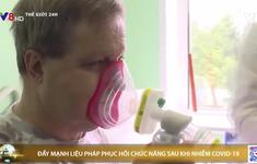 Nga chú trọng phục hồi chức năng cho bệnh nhân đã điều trị khỏi COVID-19